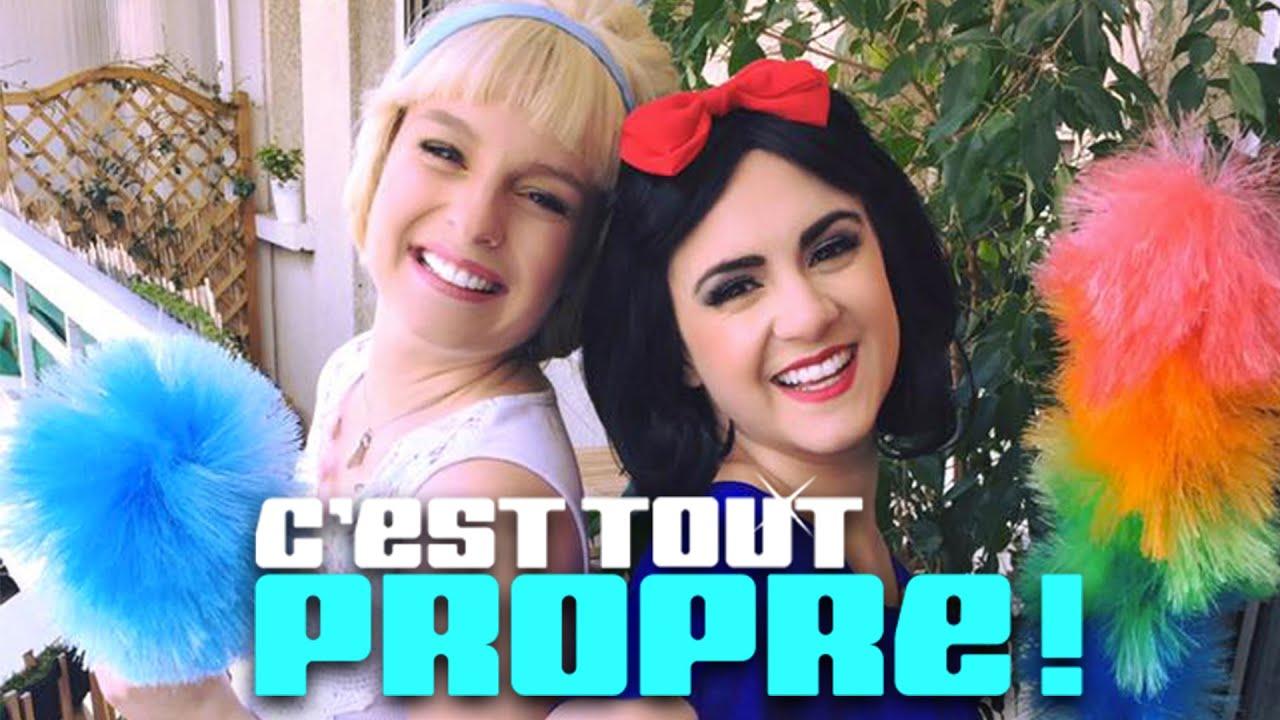"""C'est tout propre ! - Parodie Disney de """"C'est du Propre"""""""