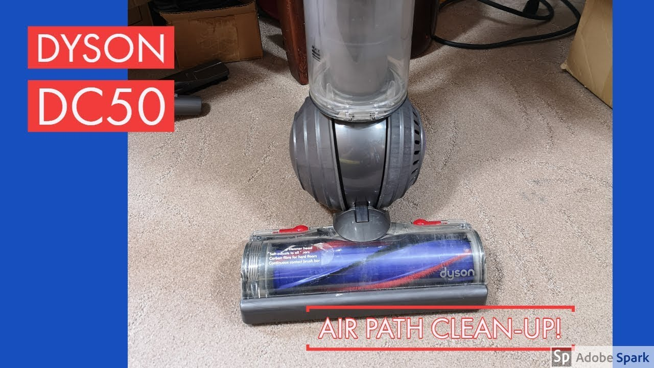 How To Unclog A Dyson Dc50 Small Ball Service Hints And Tips