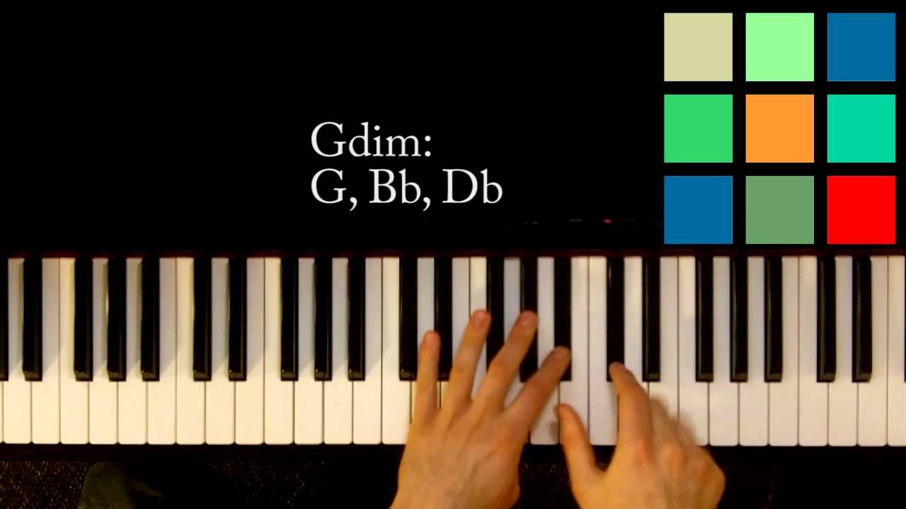 Gdim Chord