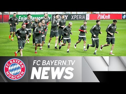Bayern Munich in Istanbul - Champions League Round of 16 - 2nd Leg