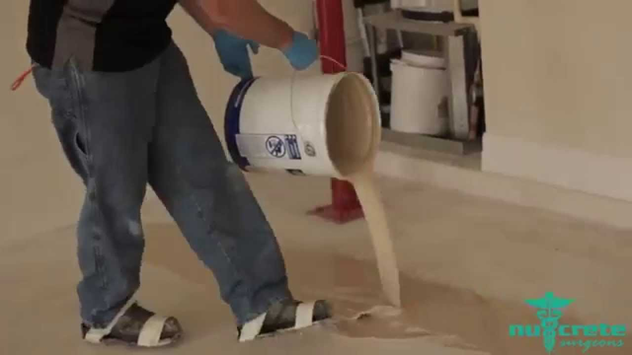 How to Apply Epoxy Floor Coatings to a Garage Floor Start to Finish  YouTube