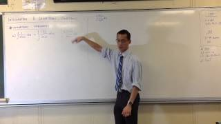 Integration & Logarithmic Functions: Log Integrands (1 of 2)