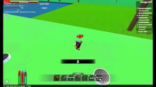 Hunger games ROBLOX: win!