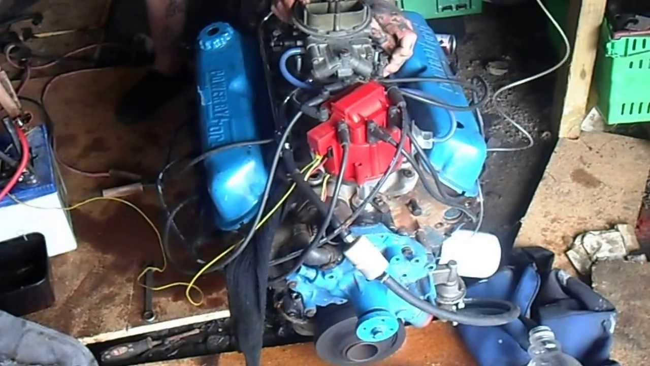 69 mustang 302 engine - YouTube