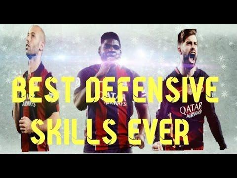 Gerard Pique,Samuel Umtiti,Javier Mascherano : Best Defensive Skills Ever ! By FCBARCA.TV