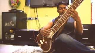 Nothing else matters - Metallica - Sitar version-india