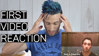 REACTING TO MY FIRST EVER YOUTUBE VIDEO | BAD Hair Advice 🙈