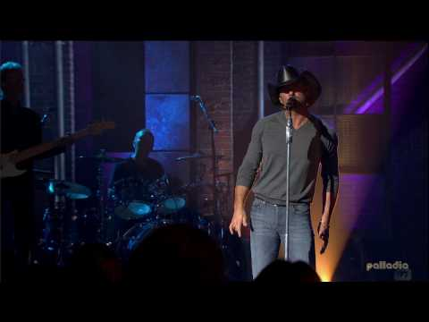 Tim McGraw - Live Like You Were Dying HD (Live)