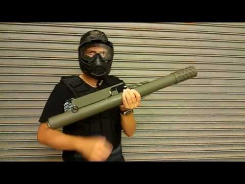 How To Make A Nerf Grenade Rocket Launcher