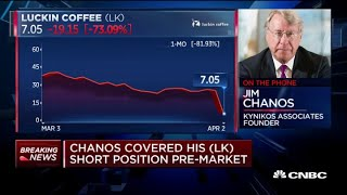 Kynikos founder Jim Chanos covered his Luckin short position pre-market
