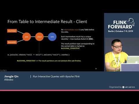Run Interactive Queries With Apache Flink - Jiangjie Qin
