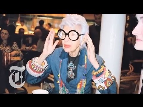 Iris Apfel Interview: Fashion Icon Discusses Her Work | The New ...