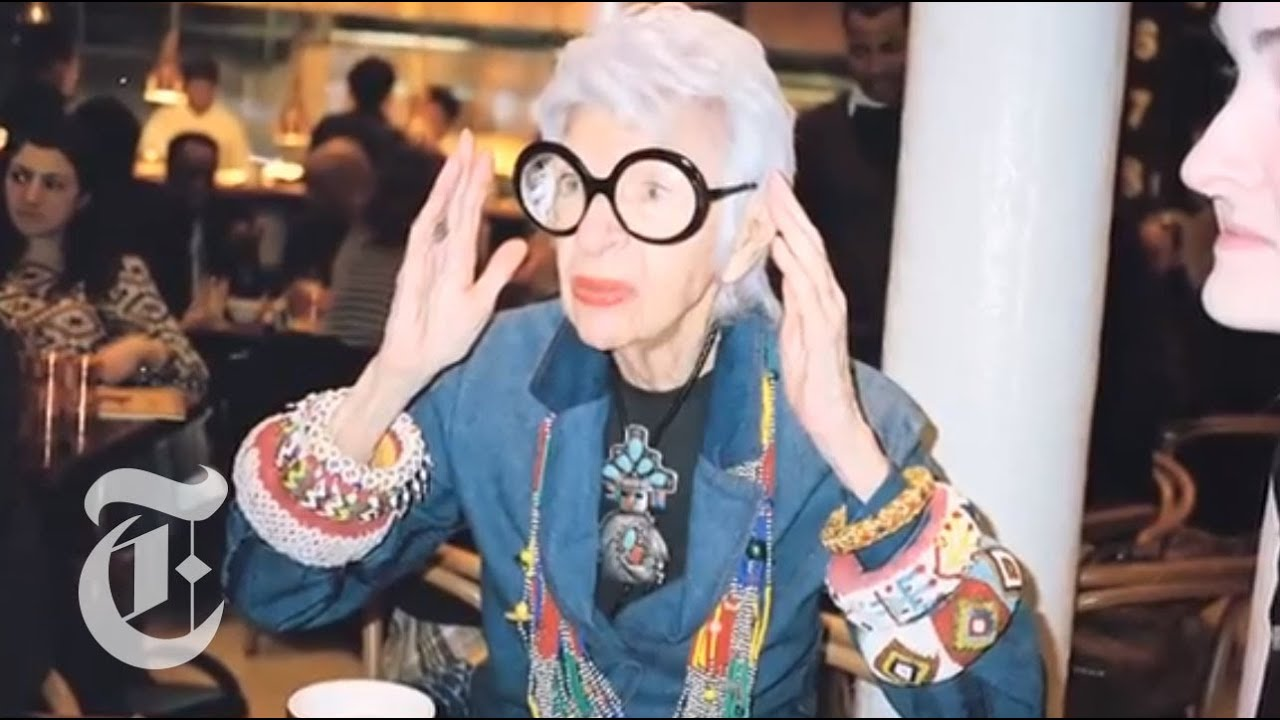 Iris Apfel Interview Fashion Icon Discusses Her Work