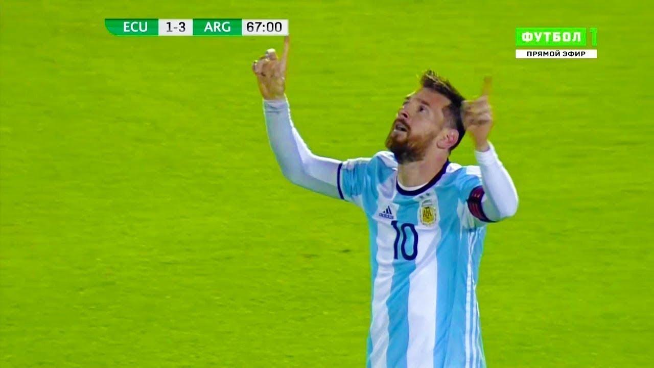 Download Lionel Messi vs Ecuador ► 3-1 WC Qualifier (Away) ► 11/10/2017 HD