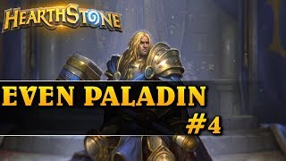 TESTY PARZYSTEGO PALKA! - EVEN PALADIN #4 - Hearthstone Decks std