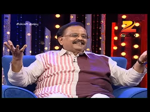 Simply Kushboo - Tamil Talk Show - Episode 17 - Zee Tamil TV Serial - Full Episode