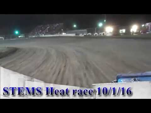 STEMS Heat #2 Oct 1, 2016 Superbowl Speedway