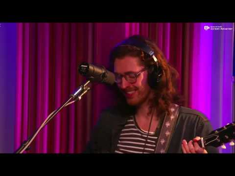 Hozier at KCRW radio October 9, 2018.
