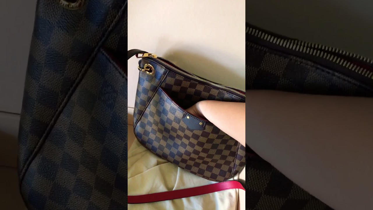 258f6737957 First look at Louis Vuitton South Bank Besace bag - YouTube