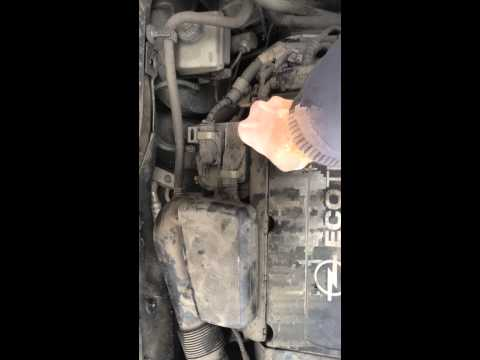 Замена прокладки клапанной крышки z18xer