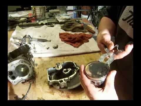 how to change piston rings on tecumseh