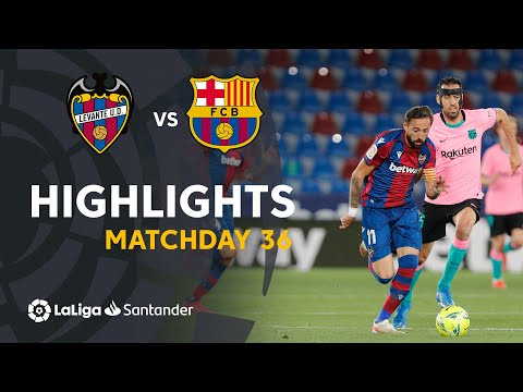 Levante Barcelona Goals And Highlights