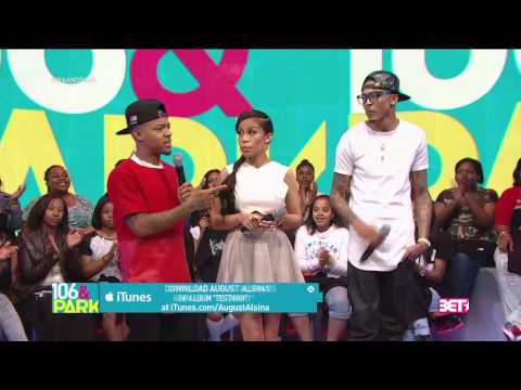 106&Park Keshia Chanté asked August Alsina about Trey Songz
