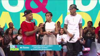 106 keshia chant asked august alsina about trey songz