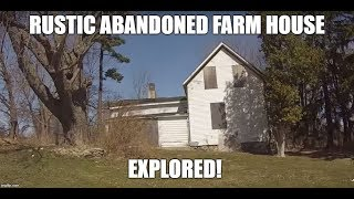 Exploring a Rustic Abandoned Farm House