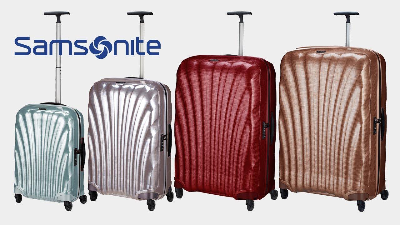 samsonite cosmolite 4 rollen trolley koffer. Black Bedroom Furniture Sets. Home Design Ideas
