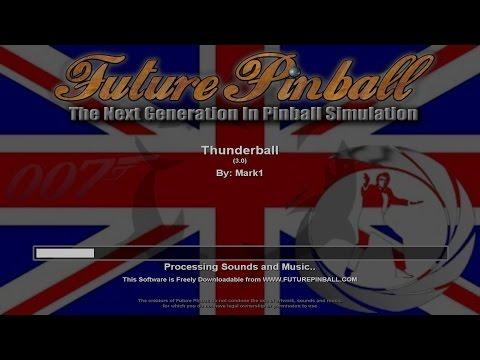 Thunderball | PINBALL TABLE | HD | PLUS DOWNLOAD LINK
