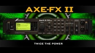 Pete Thorn Axe FX 2 Tone Match presets, coming soon!