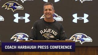 John Harbaugh on Media's Love of Lamar, Ravens | Baltimore Ravens