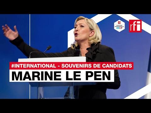 Marine Le Pen (FN) raconte son meilleur et son pire souvenir à l'étranger