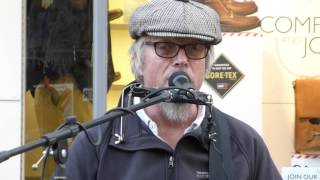 Rob Berry -  Cold Shot - Busking In Chichester - A great musician and a special guitar