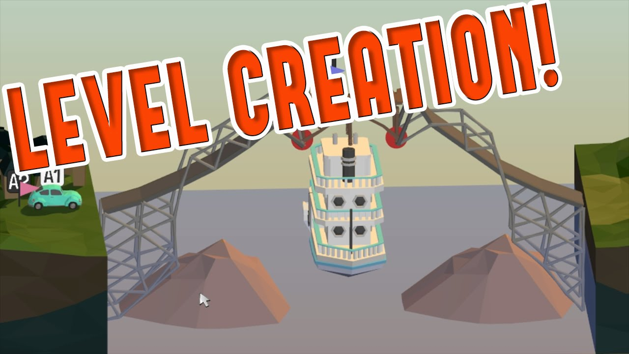 Leverler For Sand Box : Poly bridge level making fun how to create