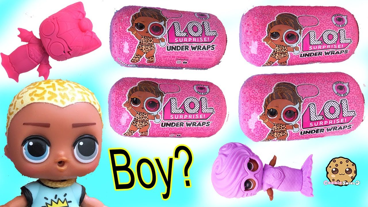 1 LOL SURPRISE UNDER WRAPS EYE SPY SERIES BIG SISTERS DOLL CAPSULE