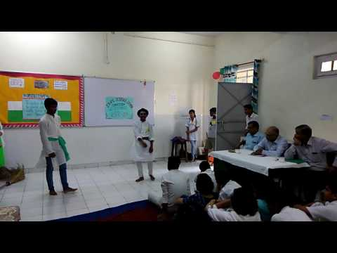 Science drama on clean India healthy india
