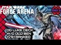 LUKE, ADRENAL AND NO OLD BEN / Star Wars: Force Arena