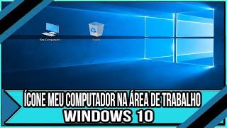 recuperar área de trabalho do windows 10