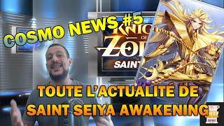 Cosmo News #5 - Toute l'actualité de Saint Seiya Awakening - Shaka Araya,  Rosary, coffer et plus
