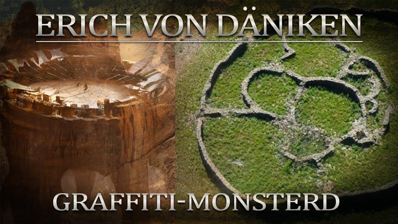 Erich von Däniken Graffiti Monster
