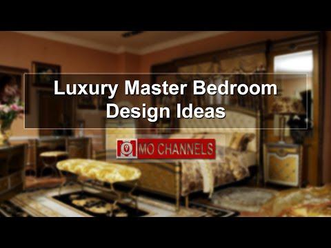 Luxury Master Bedroom Design Ideas
