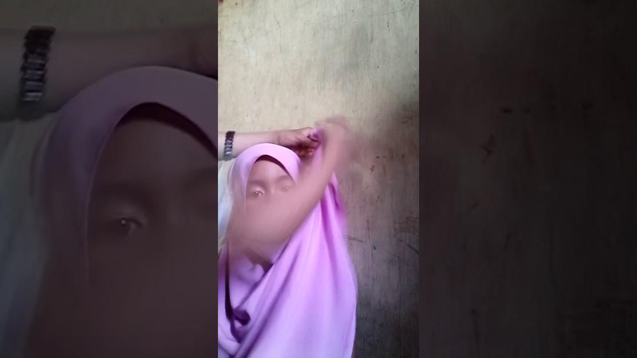 Tutorial hijab kekinian buat anak - YouTube
