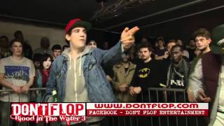 DON'T FLOP - Rap Battle - Scizzahz Vs J Walker