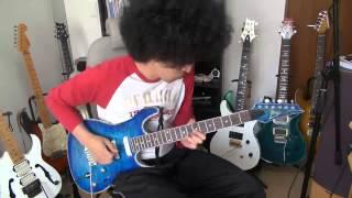 【5万円ギター】ピックアップ交換して演奏してみた【アフロ】