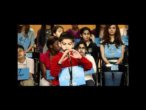 2011 HoustonPBS Spelling Bee -- Round 1 and Guest Appearance by Aditya Chemudupaty