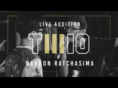 TWIO3 : LIVE AUDITION STAGE#2 (NAKHON RATCHASIMA)   RAP IS NOW