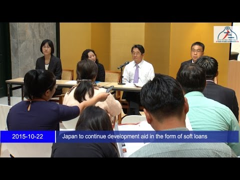 Japan to continue development aid in the form of soft loans