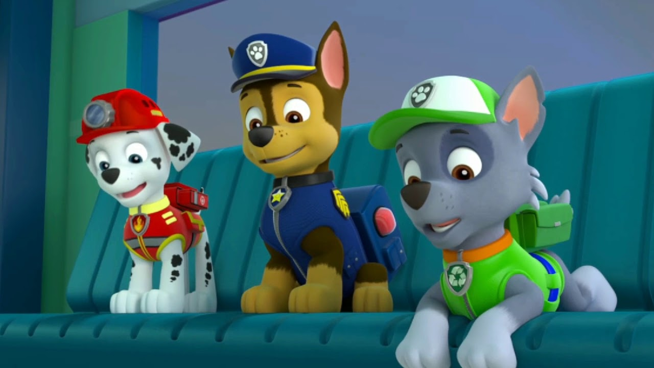 Paw Patrol Rocky Chase And Marshall Tribute The